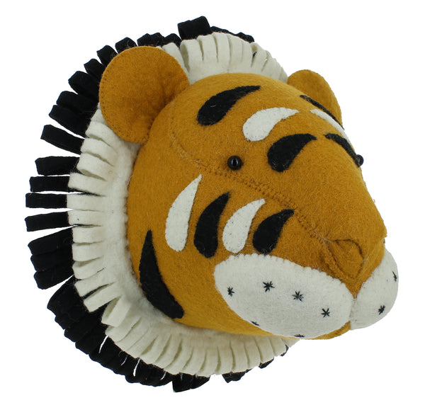 Mini Decorative Animal Head - Tiger
