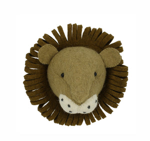 Mini Decorative Animal Head - Lion