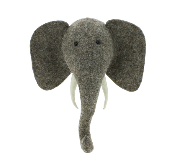 Mini Decorative Animal Head - Elephant
