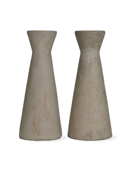 Set of 2 Candle Holders - Tall