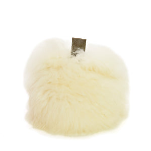 British Sheepskin Doorstop - Ivory
