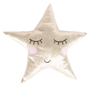 Golden Star Cushion