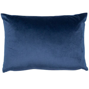 Velvet Cushion - Navy Blue