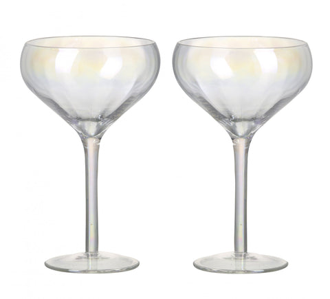 Irridescent Wine Glasses - Set of 2
