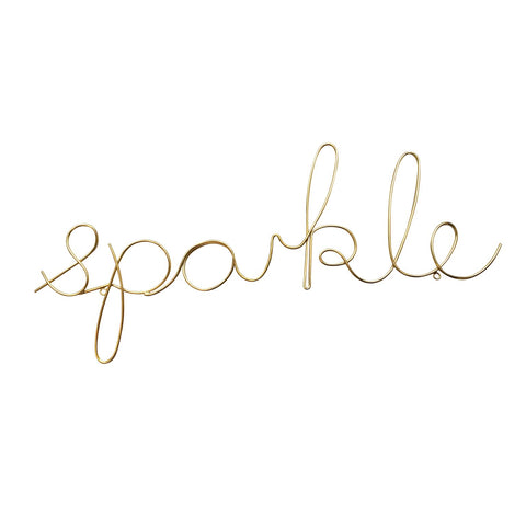 Wire Words - Sparkle