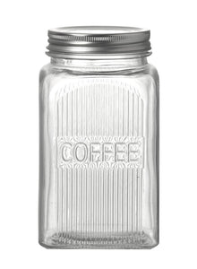 Glass Storage Jars -  Tea / Coffee / Sugar