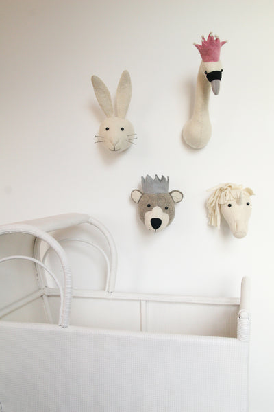 Mini Decorative Animal Head - Unicorn