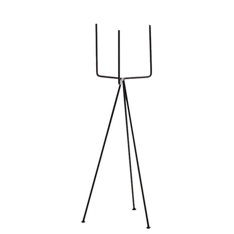 Black Iron Tripod Plant Pot Stand - Large