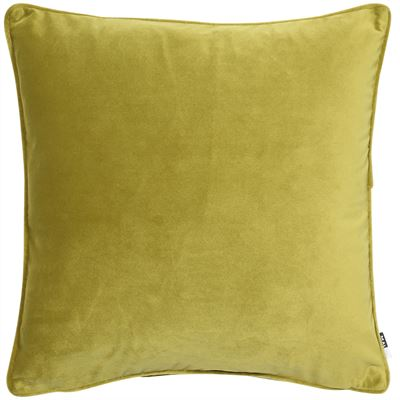 Velvet Cushion - Acid Green