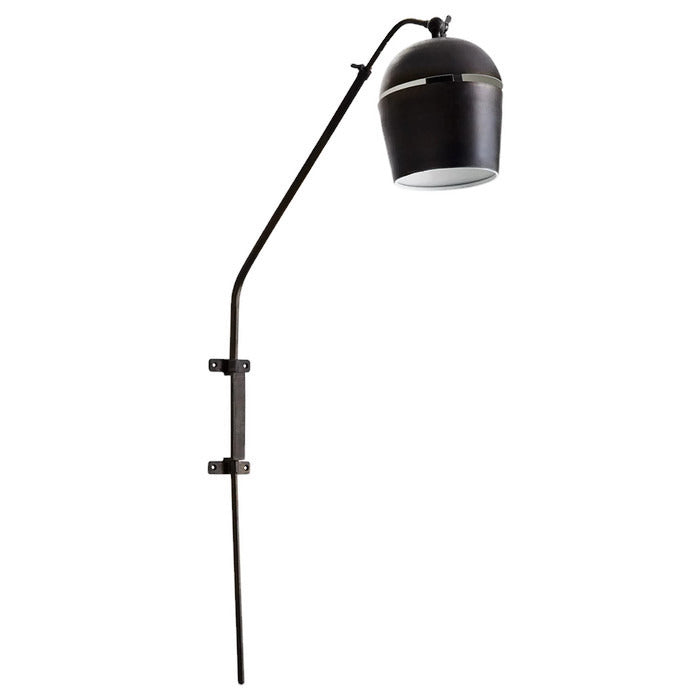 Industrial Style Black Iron Wall Lamp