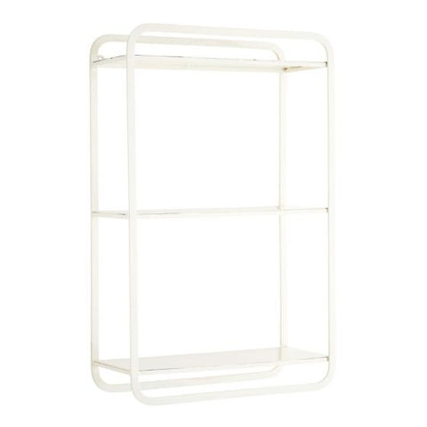 Madam Stoltz Shelf Unit White