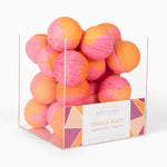 Aquamarine by Cait + Co - Orange Agate Bath Bomb + Cube Display