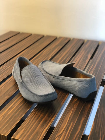 Denim Grey Loafers