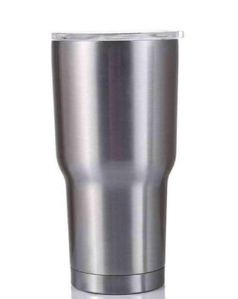 STAINLESS MATTE TRAVEL TUMBLER