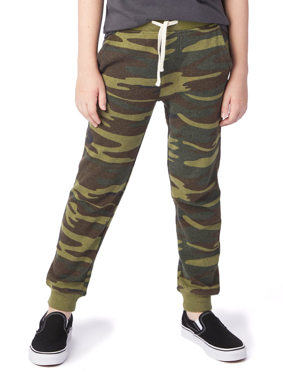 DODGEBALL PRINTED ECO-FLEECE YOUTH PANTS