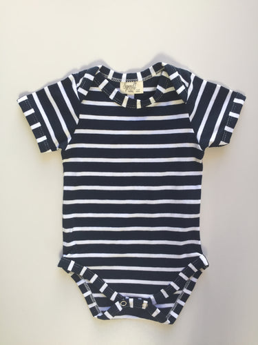 Bodyvest - Navy stripe