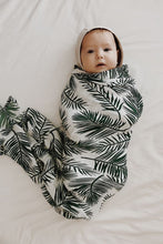 MIILK TROPICAL GREEN LEAF MUSLIN