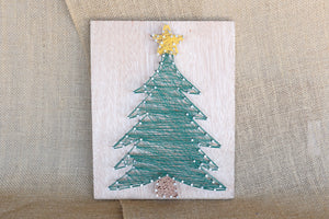 String Art - Christmas Tree