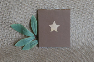 Notebook Mini - Star