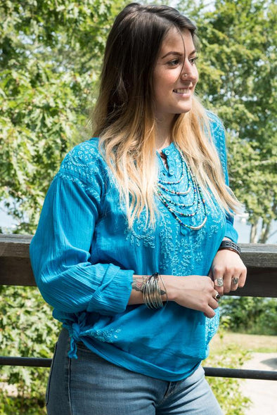 Mexicali Every Day: Styling the Autumn Kurta Tunic Top