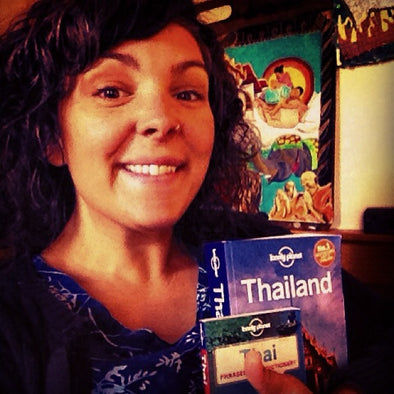 Mexicali Blues Share the Adventure Giveaway:  Crystal Gets Ready to Travel to Thailand!