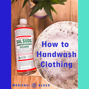 TIPS & TRICKS: HOW TO HANDWASH CLOTHING