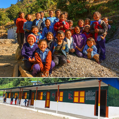 #MEXICALIMATCH UPDATE: THE EARTHQUAKE-PROOF JANAJAGRITI PRIMARY SCHOOL IS COMPLETE!
