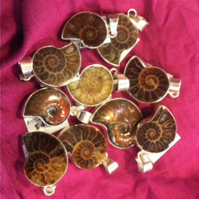 GEMSTONE MAGIC & MEANING: AMMONITE