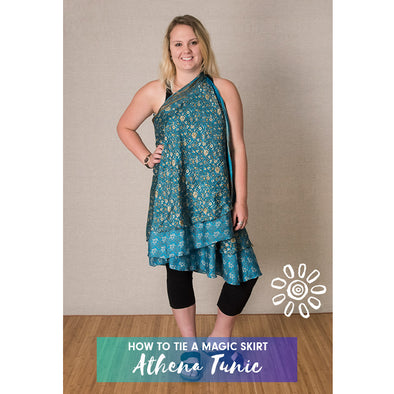 MAGIC WRAP SKIRT STYLING TUTORIAL: ATHENA TUNIC