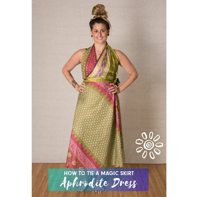 MAGIC WRAP SKIRT STYLING TUTORIAL: APHRODITE DRESS