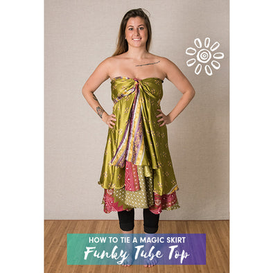 Magic Skirt Style Tutorial: Funky Tube Top