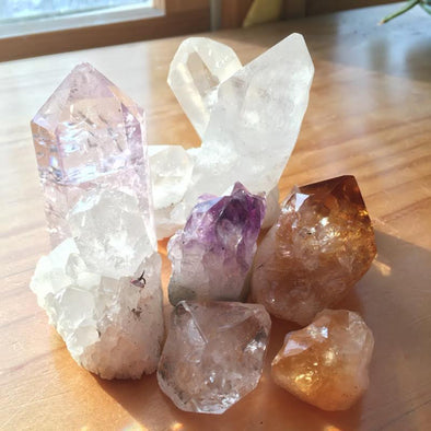 GEMSTONE MAGIC & MEANING: Clearing and Cleansing Crystals of Negative Energies