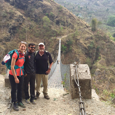 TREKKING THROUGH NEPAL TO SPREAD A WORLD OF GOODS: DAY 2