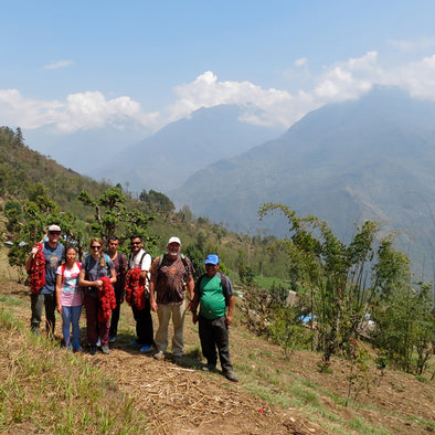 TREKKING THROUGH NEPAL TO SPREAD A WORLD OF GOODS: DAY 3 (PART II)