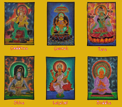 Hindu Gods & Goddesses from Buddha to Shiva:  Deities to Bring Positive Energies to Your Life