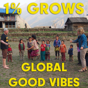 1% GROWS GLOBAL GOOD VIBES: REFLECTING ON 2018