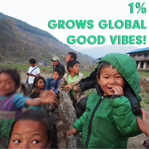 1% GROWS GLOBAL GOOD VIBES: HOW WE MOVE FORWARD BY GIVING BACK