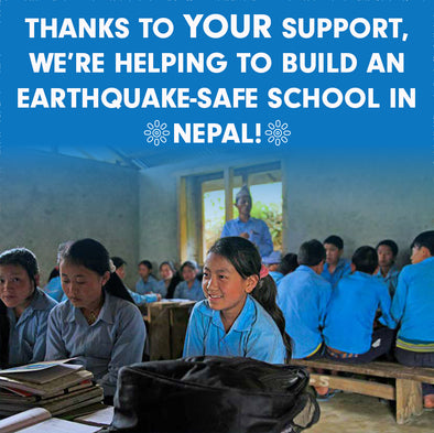 THE ONGOING RENEWAL OF EARTHQUAKE-RAVAGED NEPAL:  MEXICALI BLUES IS HELPING TO BUILD AN EARTHQUAKE-SAFE SCHOOL IN SOTANG