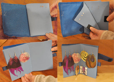 Mexicali DIY: Travel Earring Holder Tutorial