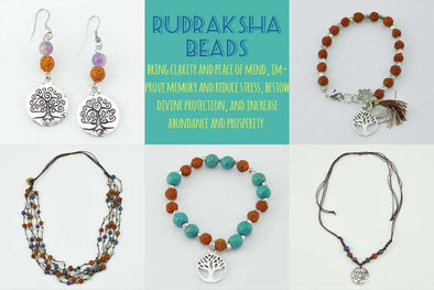 Rudraksha Beads: Jewelry for Clarity, Peace, and Prosperity