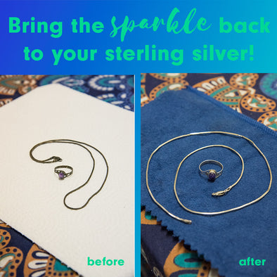 HOW TO CLEAN STERLING SILVER JEWELRY AT HOME: THIS EASY METHOD WORKS LIKE MAGIC!