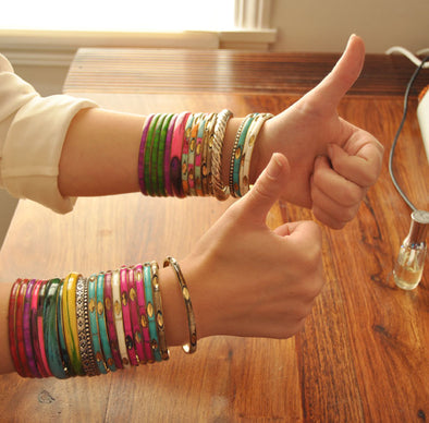 Mexicali Bangles: How to Stop Sensitivity to Metals w/ One Easy Trick!