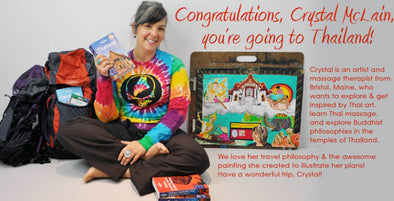 Mexicali News: Thailand Trip Giveway Winner Announced–Congratulations, Crystal McLain!