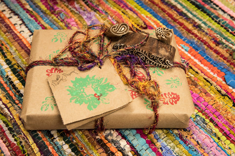 What a fabulous eco-friendly wrapping!