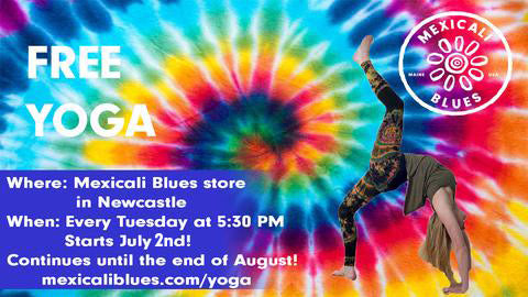FREE YOGA at Mexicali Blues Newcastle