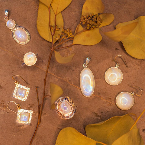 moonstone jewelry at Mexicali Blues