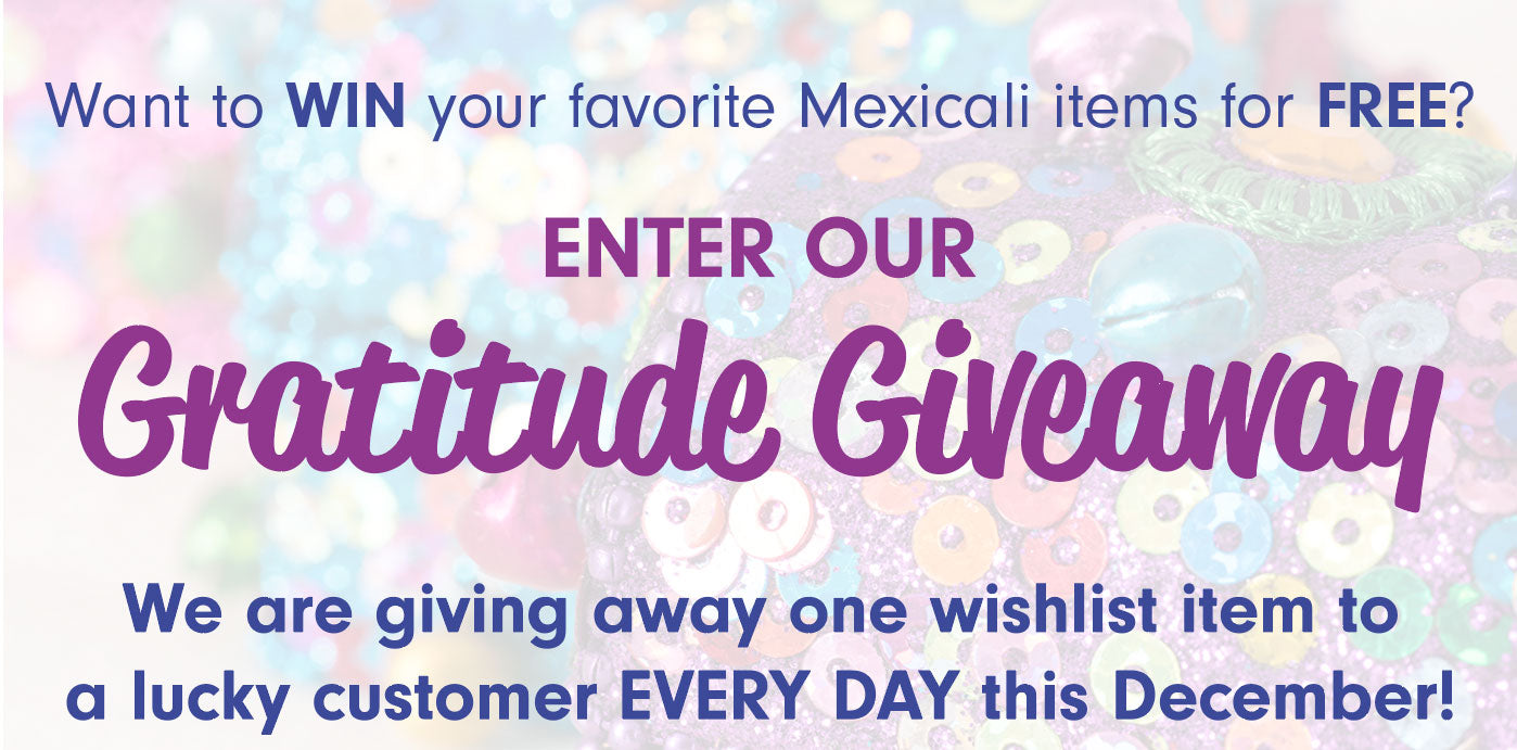 Enter our Gratitude Giveaway!