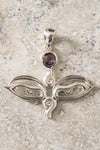 Buddha Eyes w/ Gemstone Pendant - Mexicali Blues