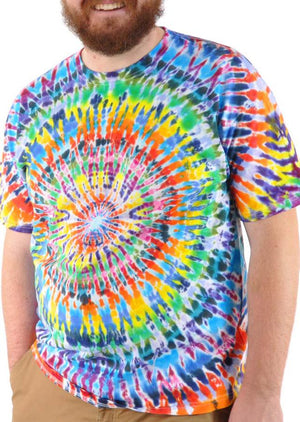 Reverse Burst Killer Tie Dye Tee - Mexicali Blues