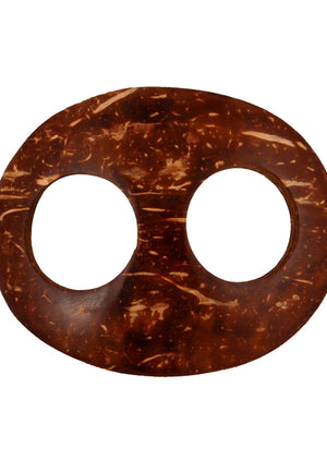 Coconut Shell Sarong Buckle - Mexicali Blues